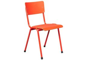 Rode stapelstoel van De Valk 3390 basic