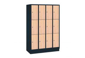 Garderobekast Viola 4.12 - houten deur beuken