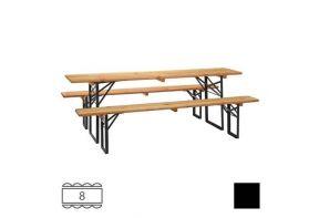 Bierbank - 220cm -tafel