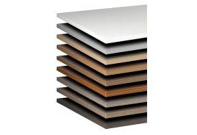 Bureaublad - 240x120 cm - hout - melamine