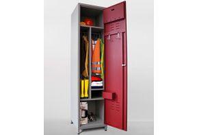 Brandweer garderobekast Beta indeling
