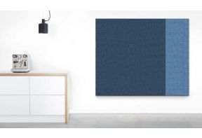 Dutchcreen akoestisch wand- en plafondpanelen - 2 kleuren blauw