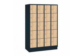 Garderobekast Viola 4.20 - houten deuren