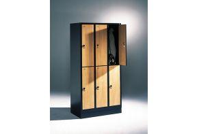 Garderobekast Viola 3.6 - kersenhouten deuren