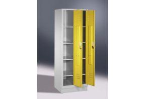 Schoongoedkast Classic 2.2 - 61cm breed - gele deuren - open