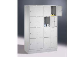 Lockerkast 4.16 - 119cm breed - witte deuren