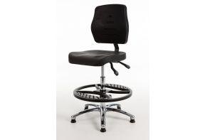 Laboratoriumstoel Economy MAX267 - Hoge rug