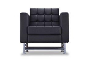fauteuil-lederen-zwart