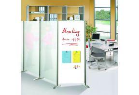 Kem aanbouw scheidingswand acrylglas 80cm breed-01