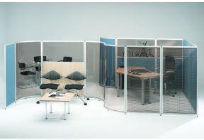 Rex Scheidingswand in 4 soorten acrylglas 141cm breed-5