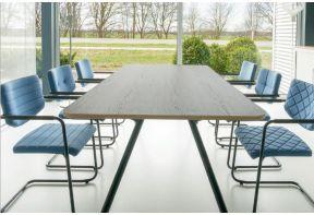 Grote vergadertafel Ramo met ronde hoeken | 6 -8 personen