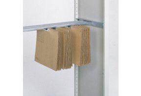 Hangmappenrails t.b.v. Schuifdeurkasten CP20 - B120 x D50 cm