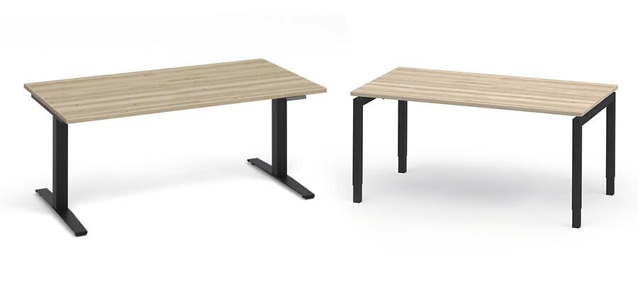 Help! Verschil tussen instelbaar- en verstelbaar bureau?