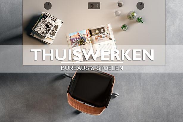 Thuiswerken - kies de juiste bureau en stoel